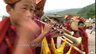 Repeat youtube video Closing ceremony of Thongdrel unfurling at Kurjey Lhakhang, Bhutan