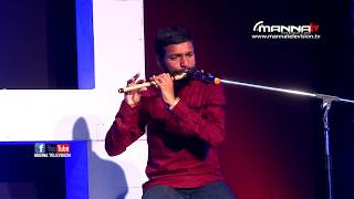 Malayalam Christian Song Instrumental (Flute) | Manna Television