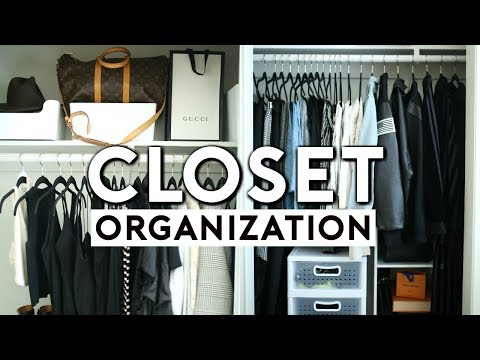 SMALL CLOSET ORGANIZATION + AFFORDABLE CLOSET STORAGE IDEAS 2018 | Nastazsa