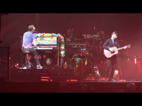 Coldplay The Scientist Live Cardiff 11 July 2017