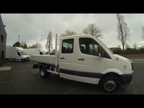 Video VW Crafter 143 Cv Double Cabine Benne