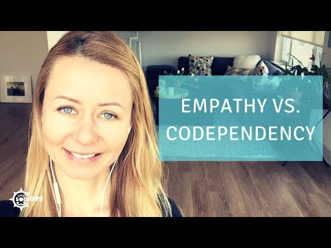 What is the difference between empathy and codependency?