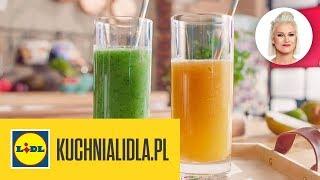 2 KOKTAJLE NA DETOKS  | Daria Ładocha & Kuchnia Lidla
