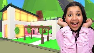 جولة في بيت شفا الحقيقي في روبلوكس !! MY REAL HOUSE IN ROBLOX