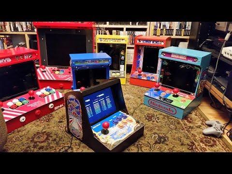 Build a Tiny Desktop Arcade with Raspberry Pi + ATMEGA32U4 + RetroPie