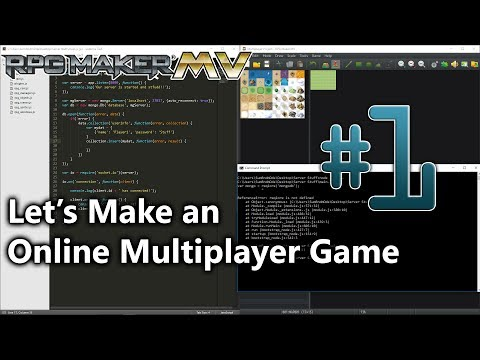 Let's Create (An Online Multiplayer) Game #1 - Setting up th