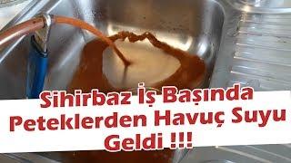 Ankara Mustafa Kemal Mahallesin''de Kombi Peteklerinden Havuç Suyu Akıttık! #kombitamircisi