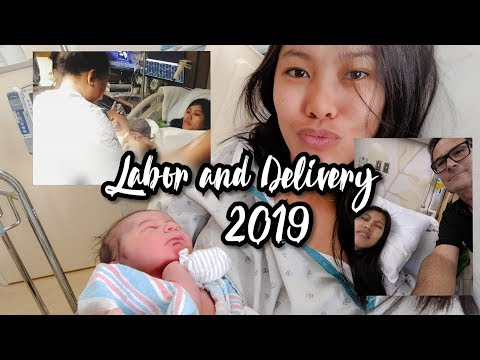 LABOR AND DELIVERY VLOG   FIL-AM BABY   The B Family