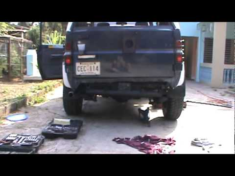 Daihatsu Rocky Body Lift 2 - YouTube