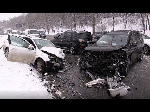АТН Харьков: ДТП в Харькове. Серьезные и анекдотические - 12.02.2020