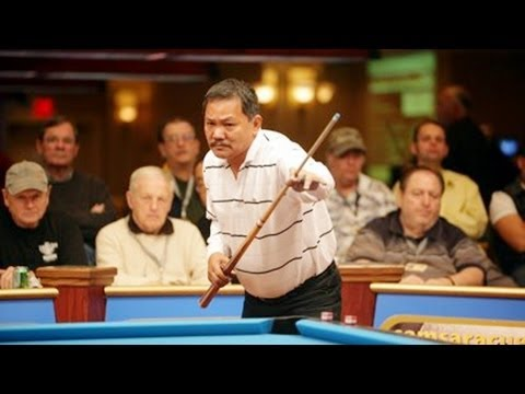 Efren Reyes v Cliff Joyner One Pockets Semis at Galveston Wo