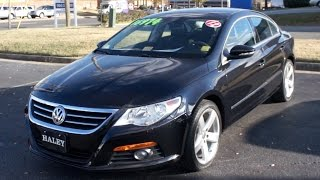 2012 Volkswagen CC Lux Walkaround, Start up, Tour and Overview