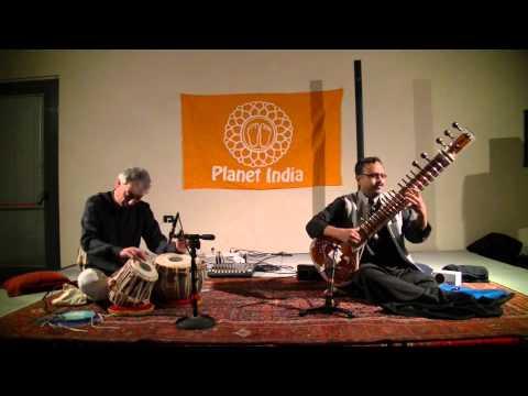 Raag Charukesi on Sitar by Subrata De at Milano