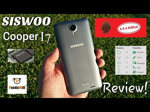 "Siswoo Cooper i7 - Full Review - MTK6752 - 2GB/16GB - 4G LTE - 5"" HD IPS - 4.4.4 - Gestures"