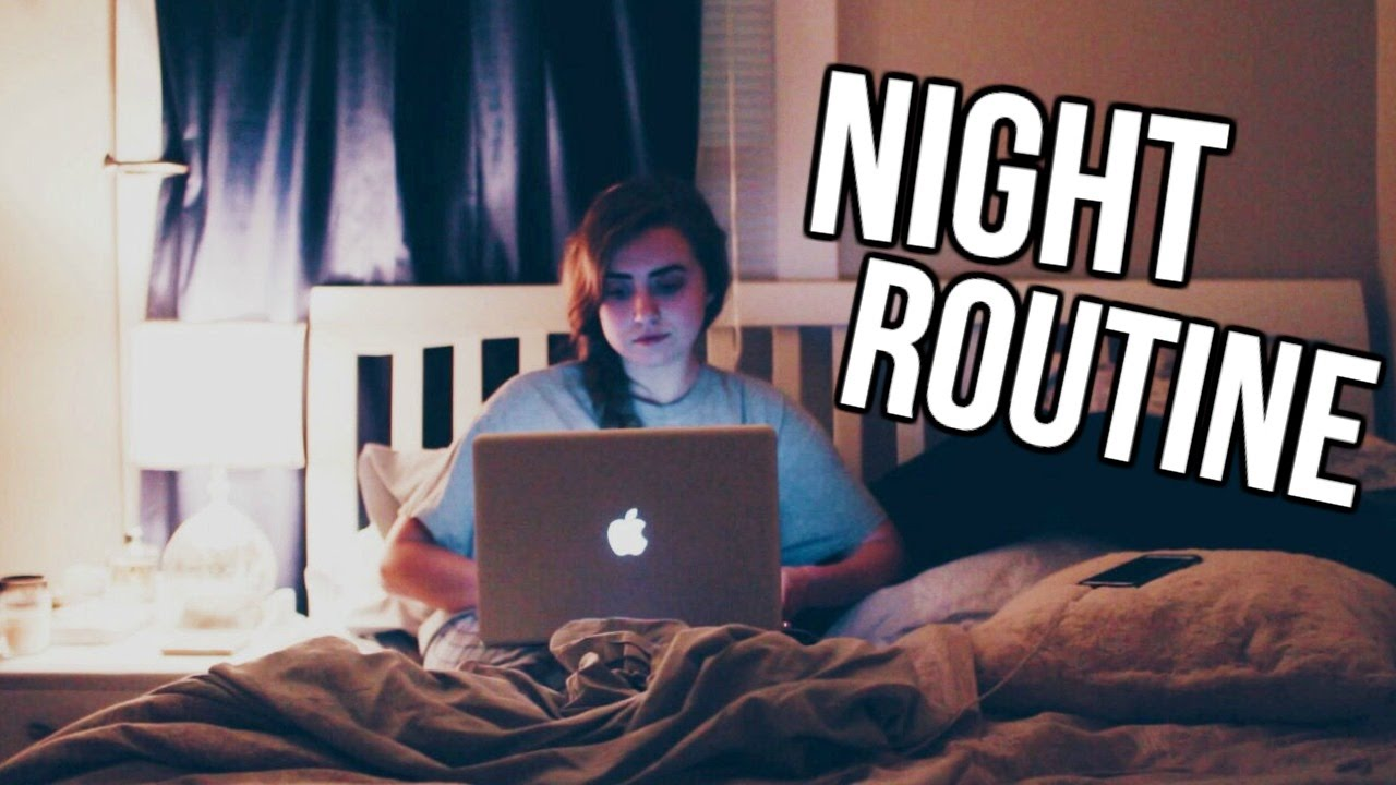 NIGHT ROUTINE | 2017 - YouTube