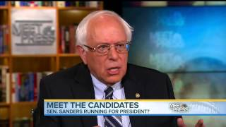 Sanders on Meet the Press