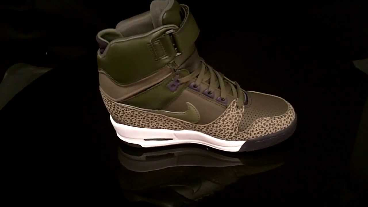 0f550a4765a Nike Air Revolution Sky High sneaker 599410 Dark Loden Medium Olive ...