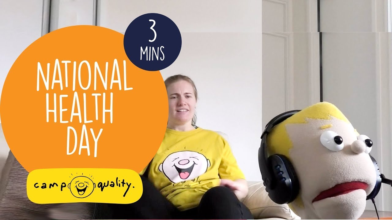 National Health And Physical Education Day - With Dean The Puppet