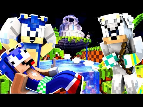 Minecraft Sonic The Hedgehog - Silver Tries To KILL Baby Sonic! [90]