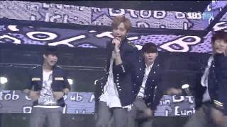 121021 BTOB - I Only Know Love @SBS Inkigayo