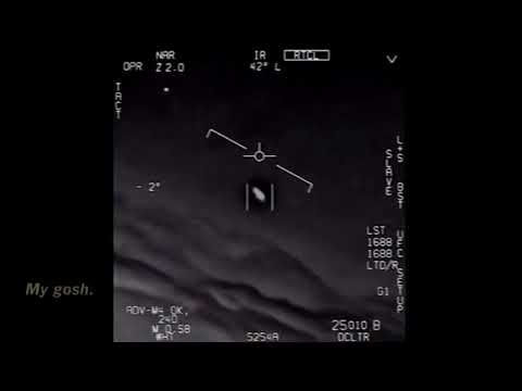 Navy Jet Chases UFO • Official Department Of Defense Footage