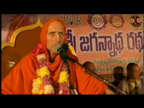 "Ratha-yatra public address ""Take this Culture and Purify Yourself"", Bhimavaram"