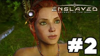 Enslaved Odyssey to the West - Gameplay Walkthrough Part 2 - Chapter 2: The Old City [HD] Xbox 360 PS3
