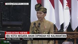 Jokowi Resmi Umumkan Ibu Kota Negara Pindah ke Kalimantan