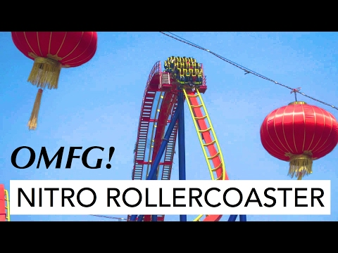Adlabs Imagica   Nitro Rollercoaster   Scary Rides