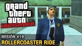 GTA Liberty City Stories - Misión #19 - Rollercoaster Ride (Español / Sin Comentario - PCSX2)