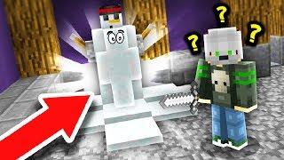 FAKE SNOWMAN TROLL! (Minecraft Murder Mystery Camo Trolling)