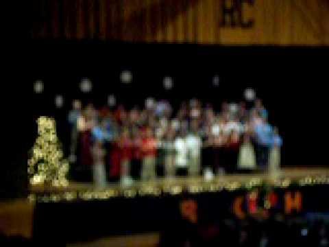 Salena Playing Patapan Rogers City Elementary School Christmas Program