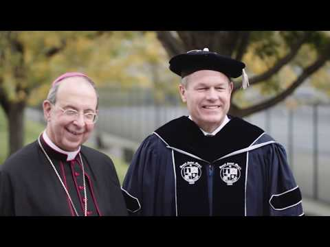 The Inauguration of President Timothy E. Trainor - Mount St. Mary's University