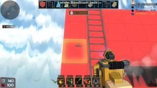 BrickForce創世槍神 (『建築與破壞』模式) 測試影片