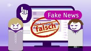 Verbreitung von Falschmeldungen - für Kinder erklärt  logo!