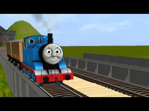 Thomas the Tank Engine (Happy Birthday David!)