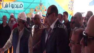 بالفيديو: محافظ مطروح يتفقد إنشاءات مبنى الجامعة
