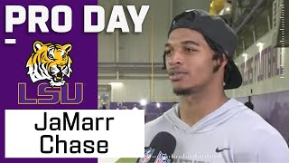 Ja'Marr Chase FULL Pro Day Highlights: Every Catch