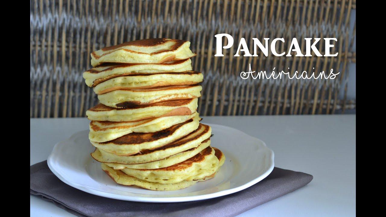 pancake am 233 ricain recette facile