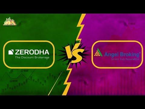 Zerodha Vs Angel Broking - Stock Brokers Comparison