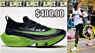 Eliud Kipchoge's 1:59 Marathon NIKE Shoes BREAK THE INTERNET || The Nike Air Zoom Alphafly NEXT%