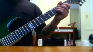 Britny Fox, Long Way to Love video guitar lesson.