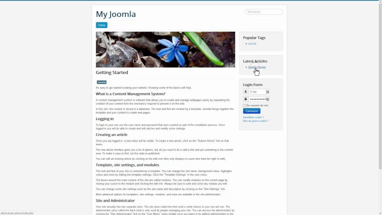 Optimisation d'un hébergement SiteGround pour Joomla - SuperCacher et le cache Dynamique