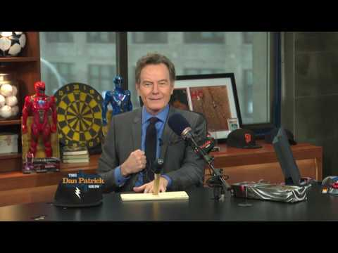 Bryan Cranston Brings a Gift for the Man Cave (3/17/17)