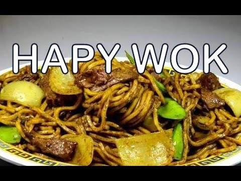 Stir Fry : Curry Beef Chow Mein : Authentic Cantonese / Chinese Cooking