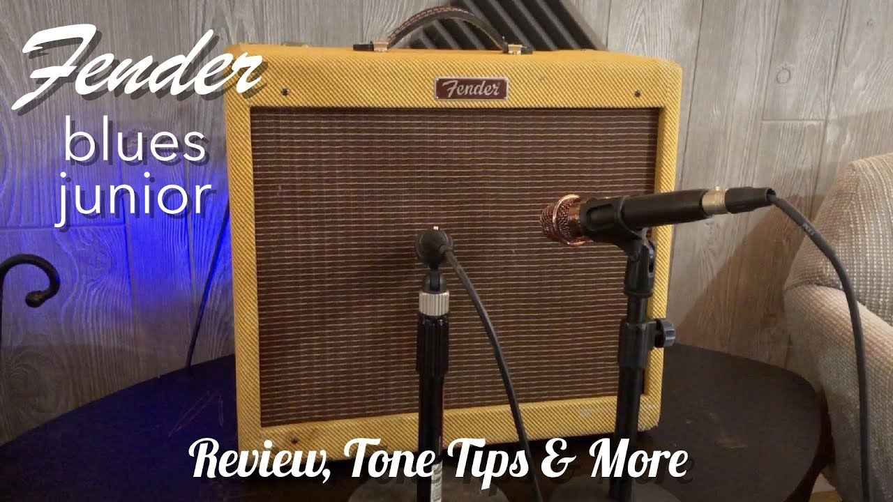 fender blues junior review tone tips more youtube. Black Bedroom Furniture Sets. Home Design Ideas