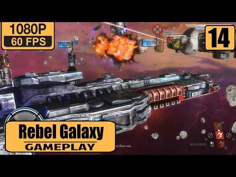 Rebel Galaxy gameplay walkthrough Part 14 - Mission: Weapons Depot