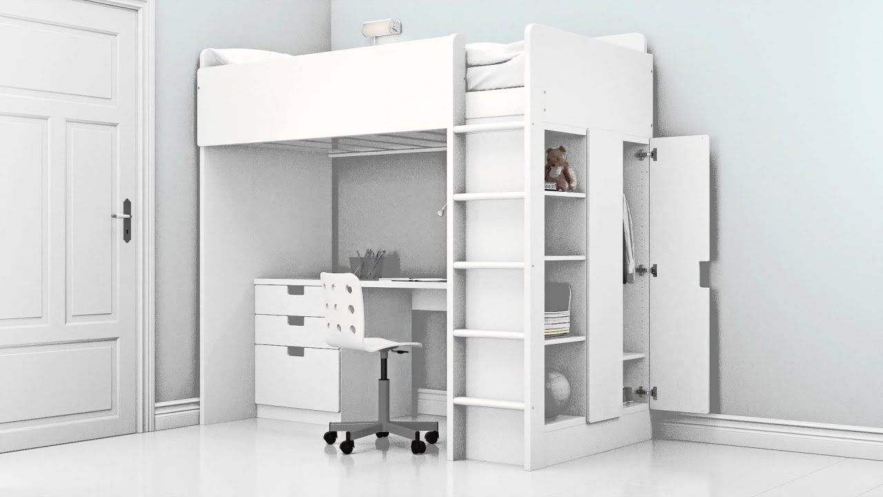 Stuva Loft Bed Stuva - Youtube