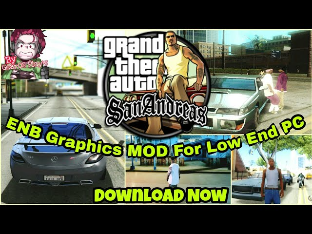 Install |GTA San Andreas| (Professional ENB High Graphics