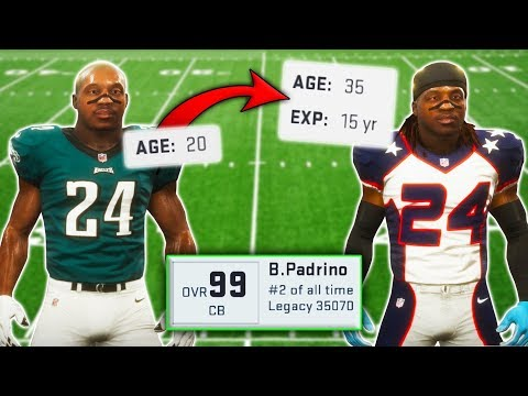 Career Of A 99 OVERALL Rookie CB? (Madden 19 Experiment)